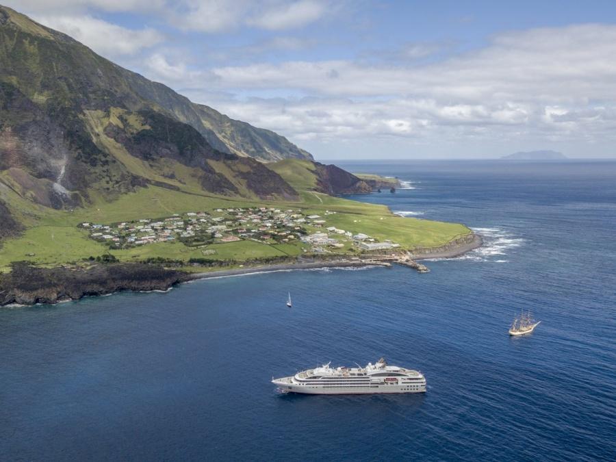 Tristan da Cunha, el territorio habitado más remoto del planeta