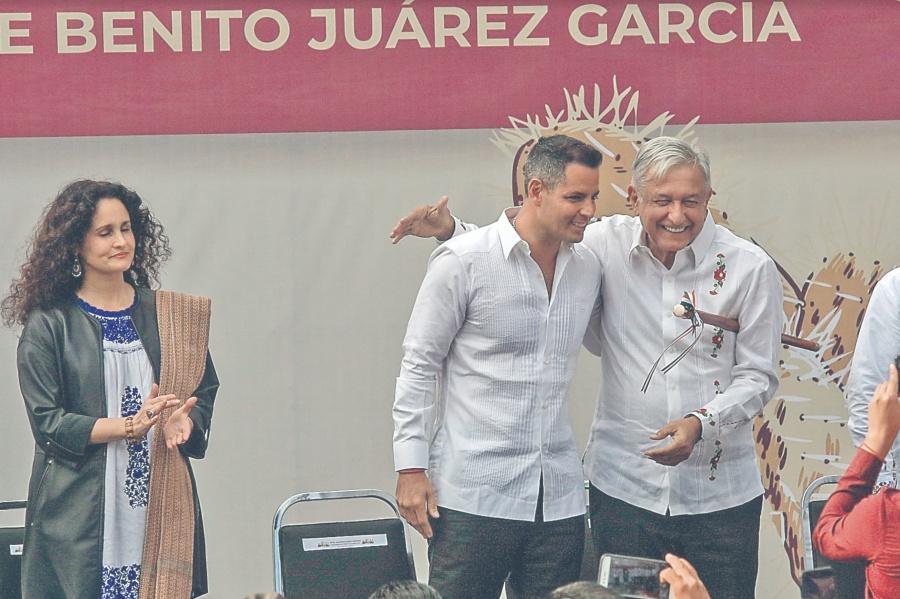 AMLO evoca a Juárez en ciudad donde nació