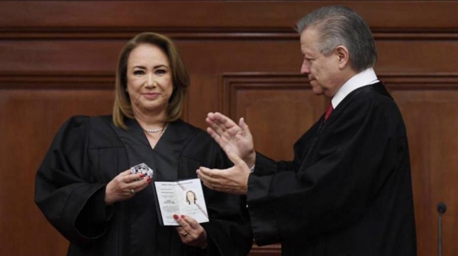 Llega Yasmín Esquivel a la Corte y promete autonomía
