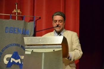 Magisterio, principal agente de transformación social: Concheiro Bórquez