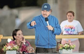 Ortega va contra ONG y arresta a 3 voluntarios