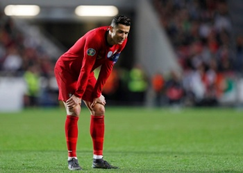 Rumbo a la Euro, CR7 y Portugal no pasan del empate ante Ucrania