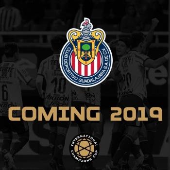 Chivas participará por primera vez en la International Champions Cup