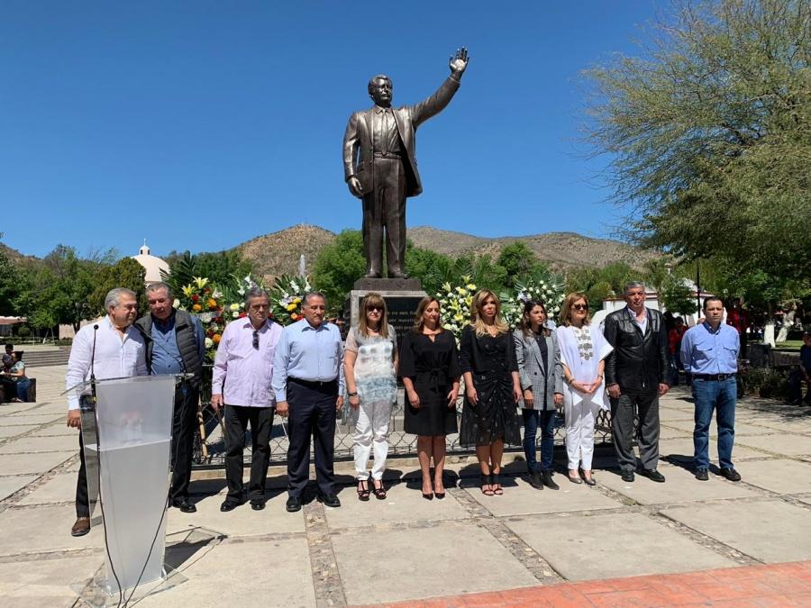 Claudia Ruiz Massieu asegura que se debe seguir el legado de Luis Donaldo Colosio
