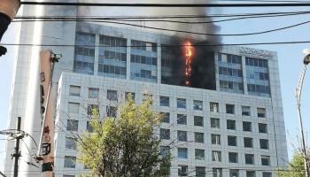Conagua lanza comunicado por el incendio registrado en sus instalaciones