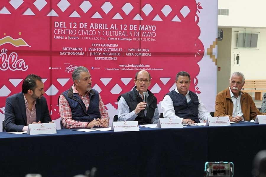 Con invitados de lujo se llevará a cabo la Feria de Puebla