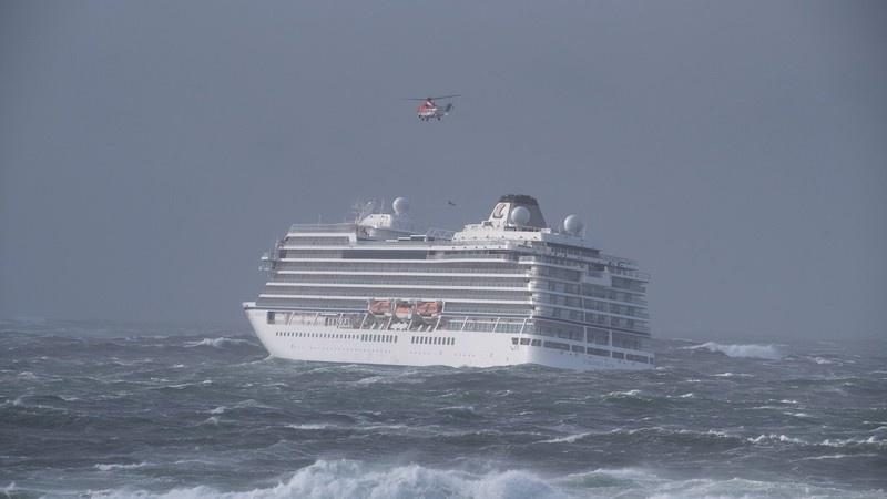Finaliza rescate de personas del crucero Viking Sky en Noruega