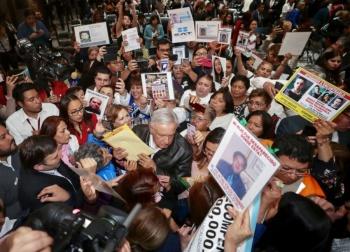 La búsqueda de desaparecidos es responsabilidad del Estado Mexicano, Andrés Manuel López Obrador