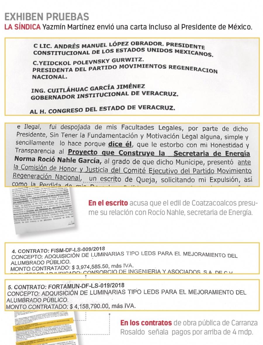 Acusan a edil de Morena por desvío, corrupción...