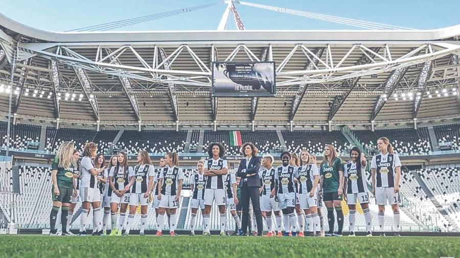 Juventus Femenil rompe el récord de asistencia