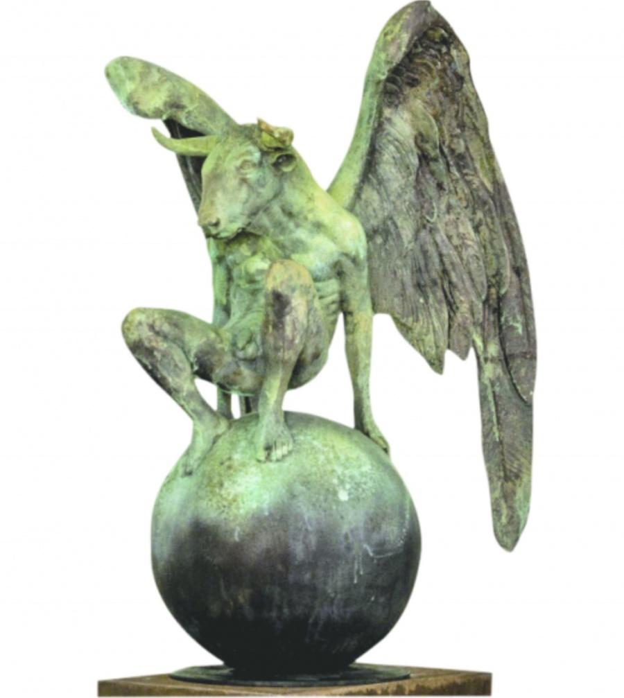 Confluye equilibrio y razón en nuevas obras de Jorge Marín