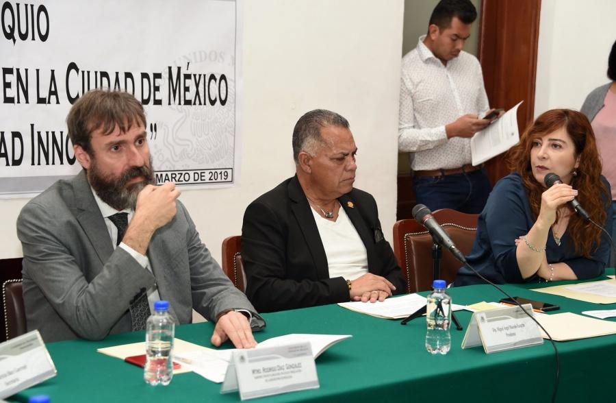 El Congreso de la Ciudad de México analiza transportes alternativos