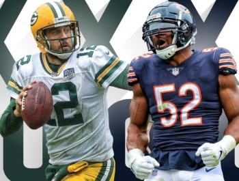Green Bay Packers y Chicago Bears, abrirán temporada de la NFL
