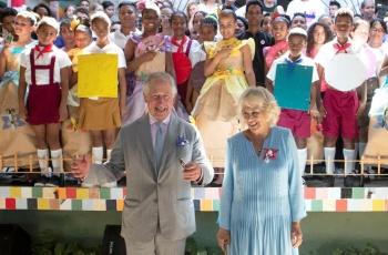 Príncipe Carlos y Duquesa Camila, recorren Centro Histórico de La Habana