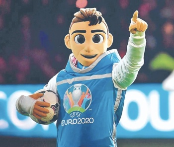 Presentan a la nueva mascota de la Eurocopa