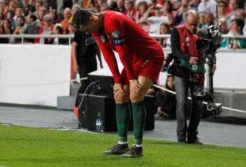 Cristiano Ronaldo se lesiona y se perdería juego ante el Ajax
