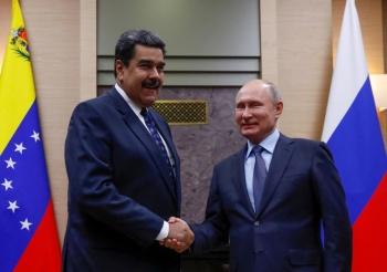 Maduro defiende la cooperación militar con Rusia