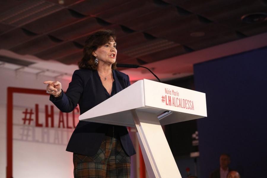 """""""España, no tiene que pedir perdón a ningún país"""": Carmen Calvo"""
