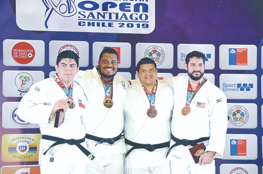 Judocas ganan medallas en Panamericano de Chile