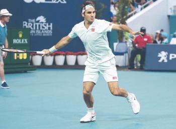 Federer avanza a octavos en Justa Master de Miami
