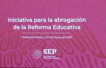 Nueva Reforma Educativa protegerá a disidentes