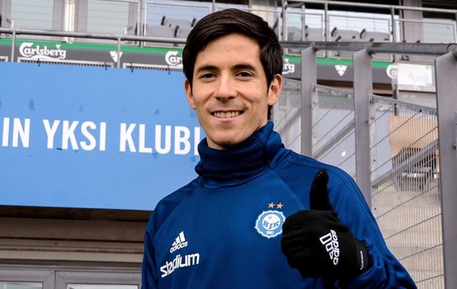 Mexicano Marco Bueno se estrena como goleador en la Veikkausliiga
