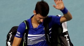 Djokovic es eliminado en octavos de justa en Miami