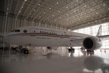 Hoy sale a la venta avión presidencial: AMLO