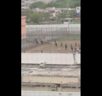 Reportan disparos al interior del penal de Topo Chico