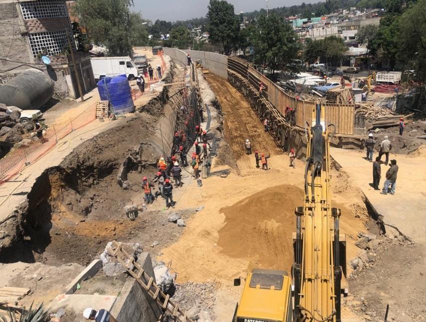 En dos semanas estará lista la carretera Xochimilco-Tulyehualco