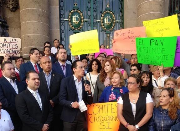 Diputados del PAN llaman a Sheinbaum a detener desaparición de Comités Ciudadanos