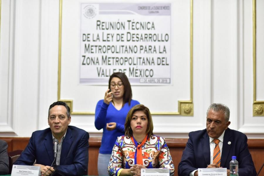 Presentarán en Congreso CDMX, Ley de Desarrollo Metropolitano
