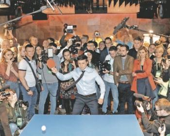 Cómico gana elección con 30% de votos en Ucrania