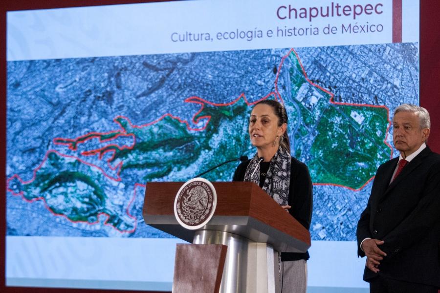 Sheinbaum compara a Chapultepec con Central Park