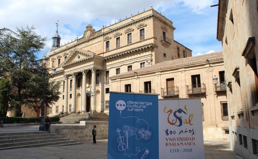 Promueve UNAM intercambio cultural con Universidad de Salamanca