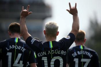 Sergio Aguero no estará en duelo de Manchester City-Cardiff