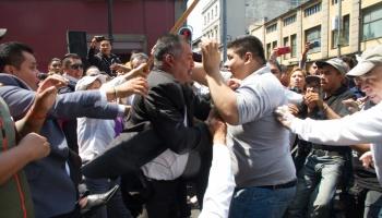 Tres trabajadores resultaron heridos tras pelea, asegura PAN capitalino