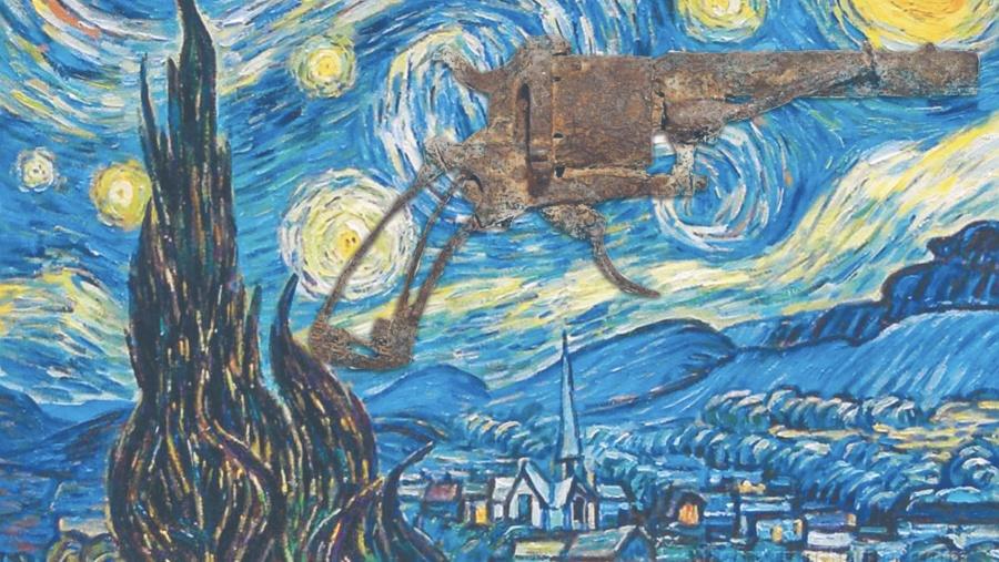 Subastan el revólver con el que Van Gogh se suicidó