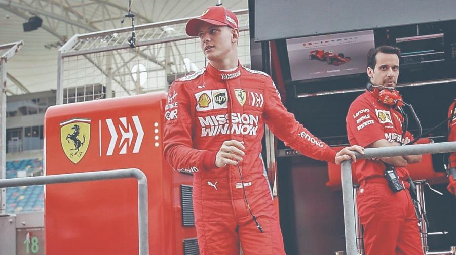 Hijo de Schumacher fija segundo buen registro