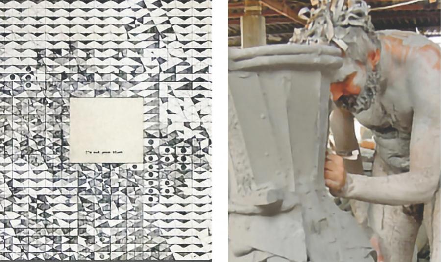 Presumen mural-instalación nuevo en la sala Siqueiros