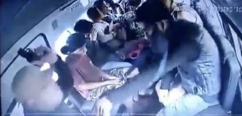 En retén detienen a asaltantes de combi en Ecatepec