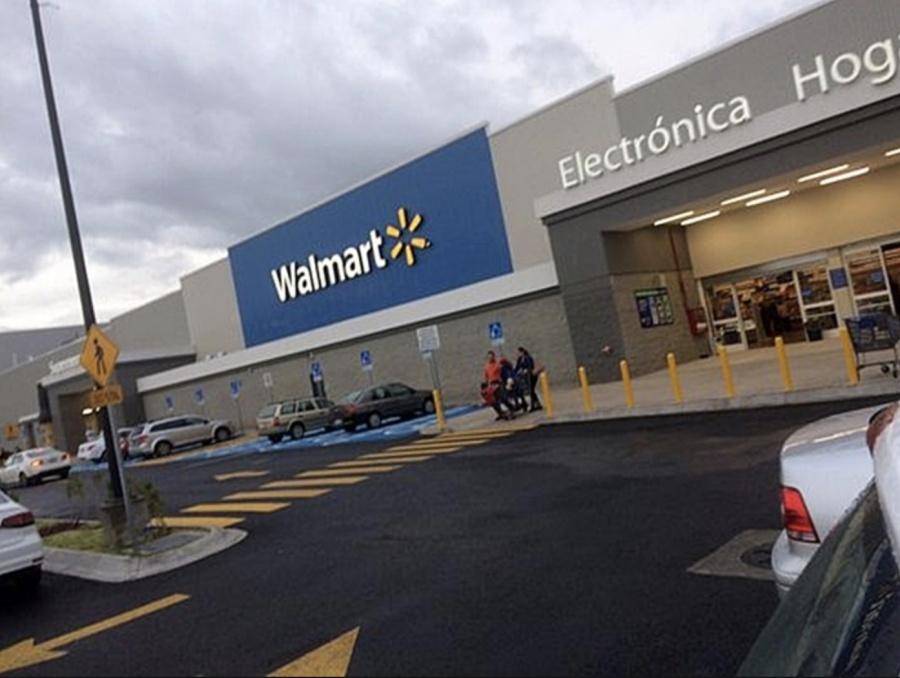 Ventas de Walmart crecen 4.4 por ciento