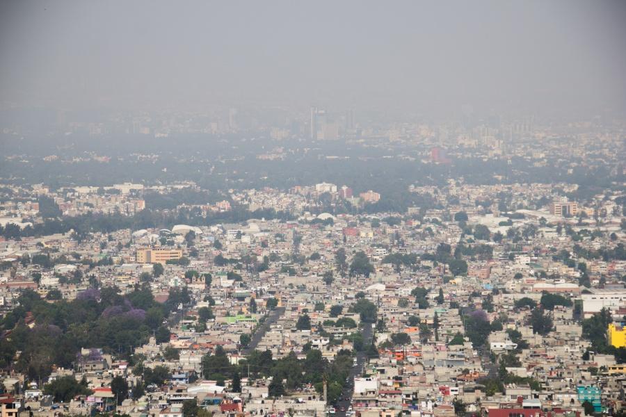 Otra vez, amanece Ecatepec con mala calidad del aire