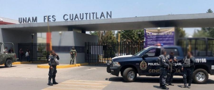 Evacuan FES Cuautitlán por amenaza de bomba