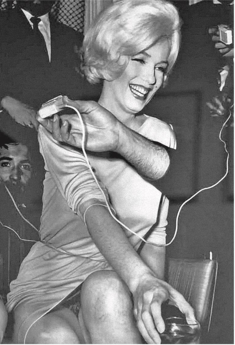 Muestran la Marilyn que hizo de Caballero una celebridad