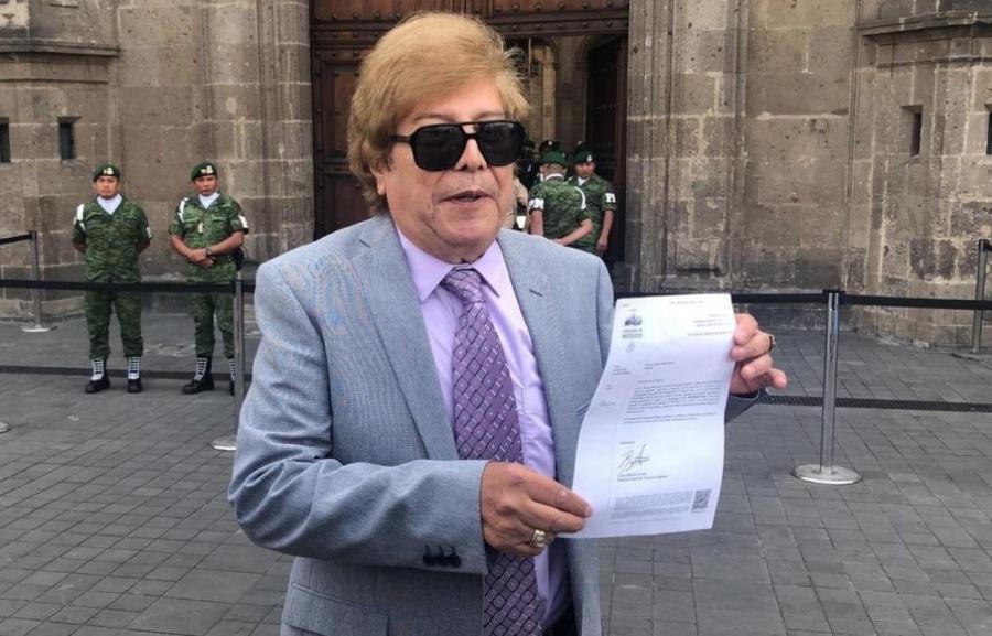 Exmanager de Juan Gabriel solicita audiencia con AMLO para que sea testigo de su reaparición