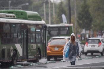 Se prevén lluvias en la CDMX