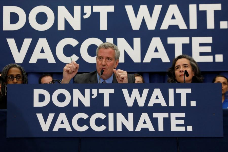 Nueva York, en emergencia sanitaria por sarampión