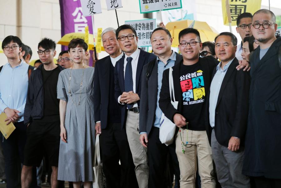 """Condena Hong Kong a nueve líderes de la """"Revolución de los Paraguas"""""""
