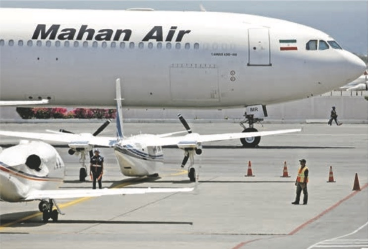…Y aerolínea iraní que transporta armas abre vuelo en Venezuela
